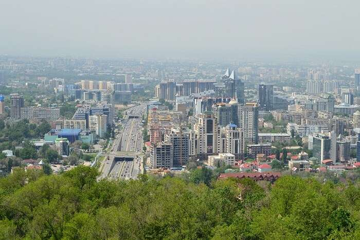 summer time in Kazakhstan