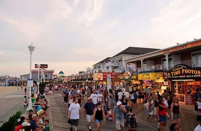 Boardwalk Ocean City