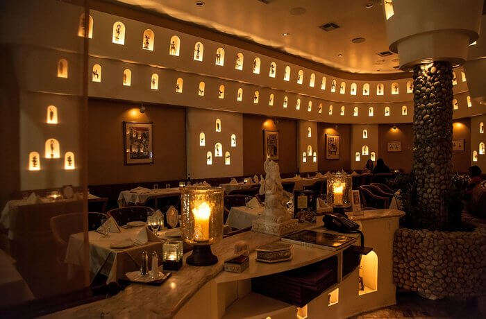have a luxurious dining experience