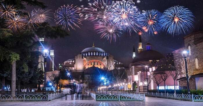 Christmas celebrations in Turkey