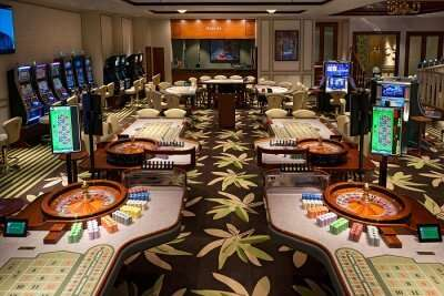 inside view of famous casino