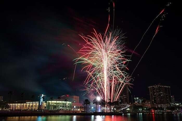 New Year In Saint Petersburg