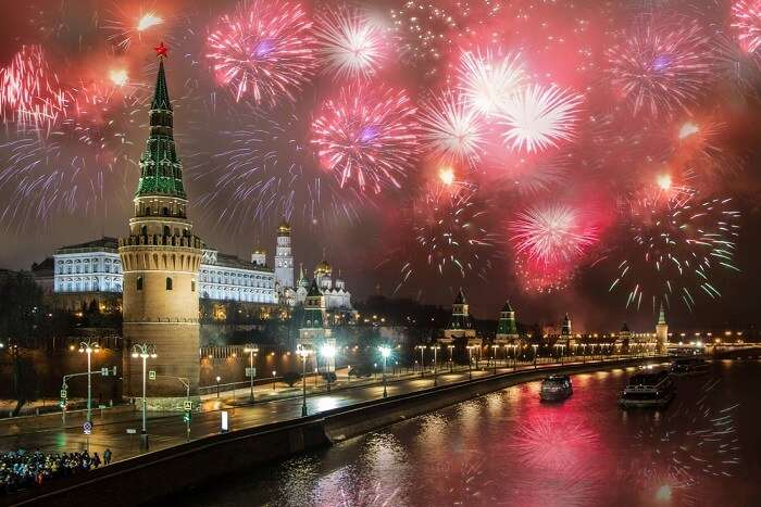 Amazing New year of Russia