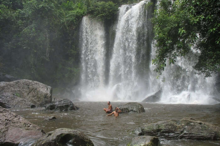 waterfalls near Siem reap