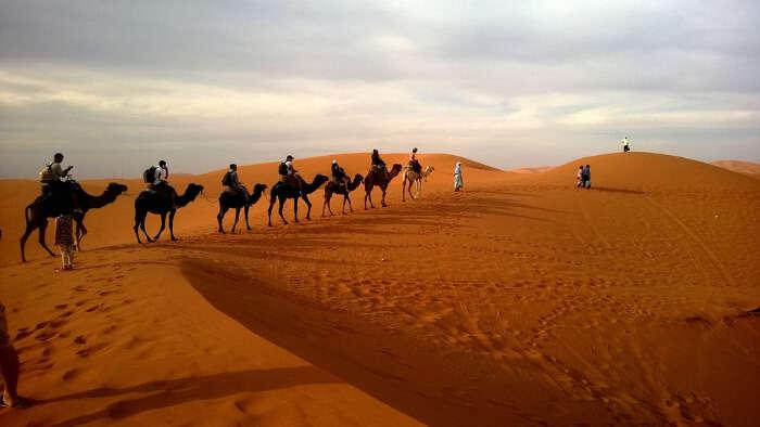 Desert Safar in Dubai
