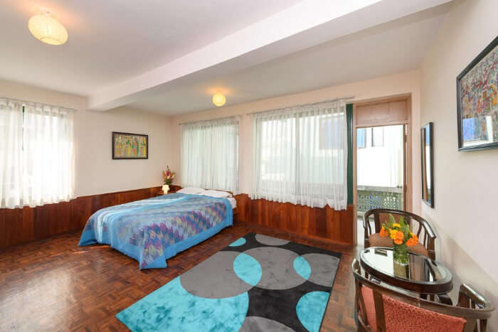 Large comfortable rooms
