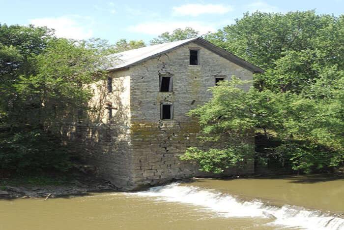 Drinkwater and Schriver Flour Mill, Cedar Point