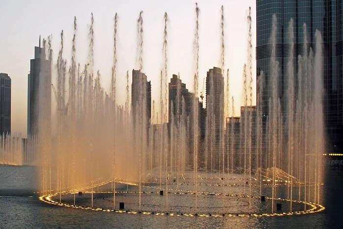 Dubai Fountain in Dubai
