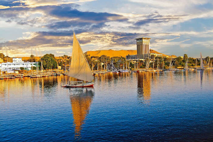 the gorgeous nile river