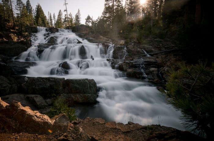 Glen Alpine Falls