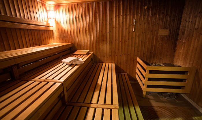 Go for the famous Finnish sauna