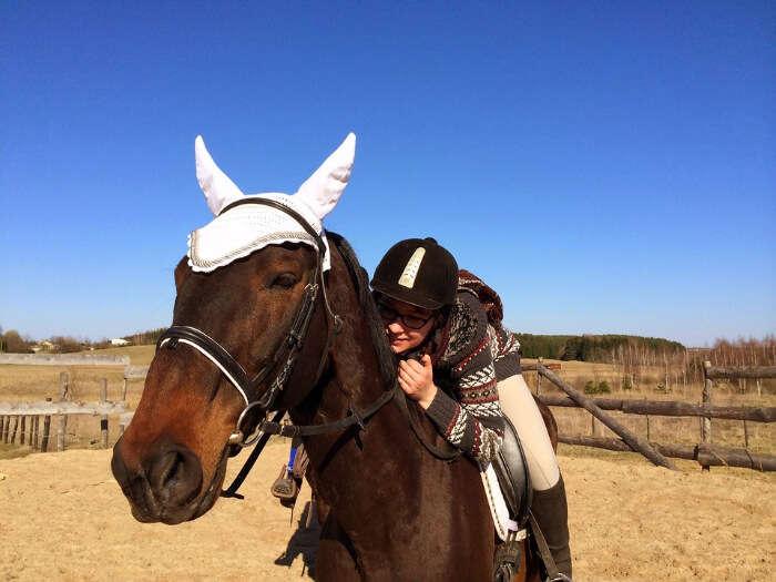 Go horseback riding