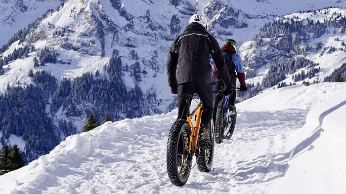 Go mountain biking and cycling