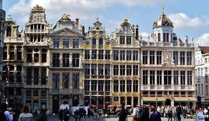 Guild Houses in Brussels