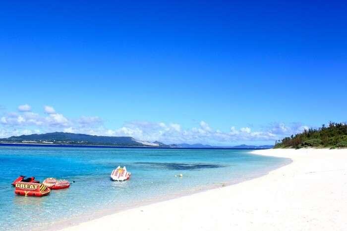 Head to beaches of Okinawa