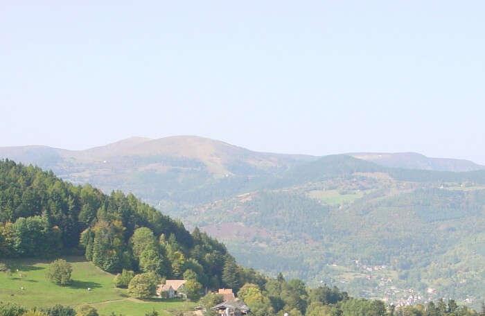 northeastern France Mountain