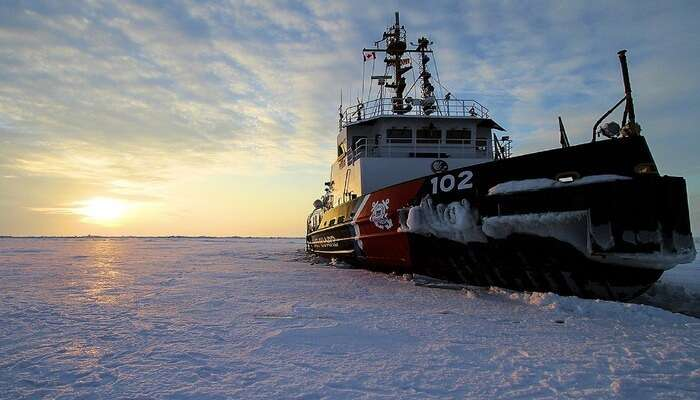 Book a seat on the Icebreaker Cruise