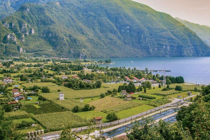 Lake Idro in Sweden