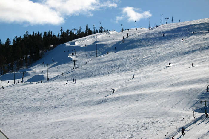 Levi's Skiing