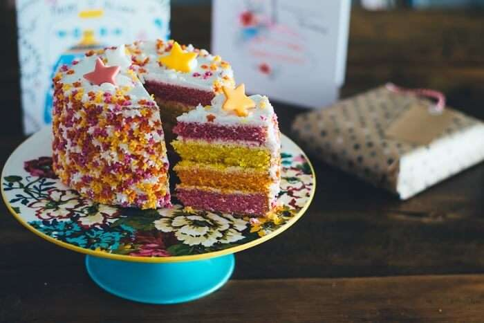 Food Pastry Colourful Cake Dessert Colorful