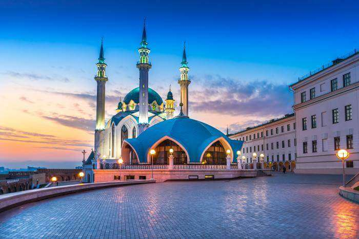 Most Famous Mosques In Russia
