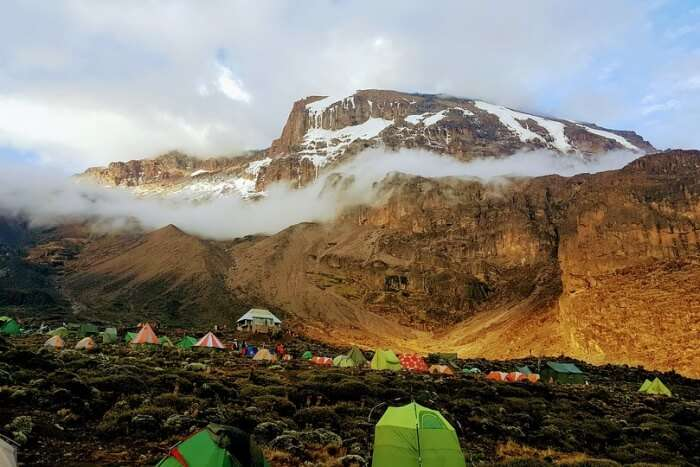 Roof Africa Machame Barranco Wall Kilimanjaro