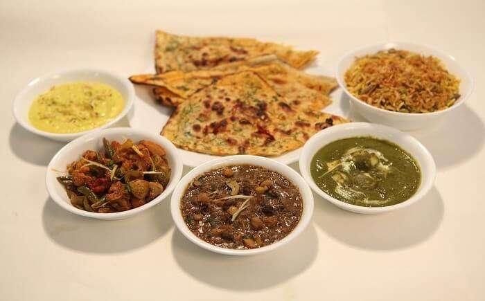Indian Vegetarian Food