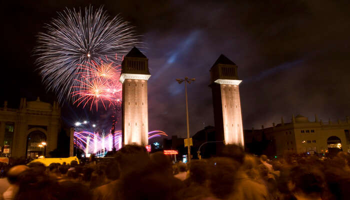 New Year's Eve in Barcelona