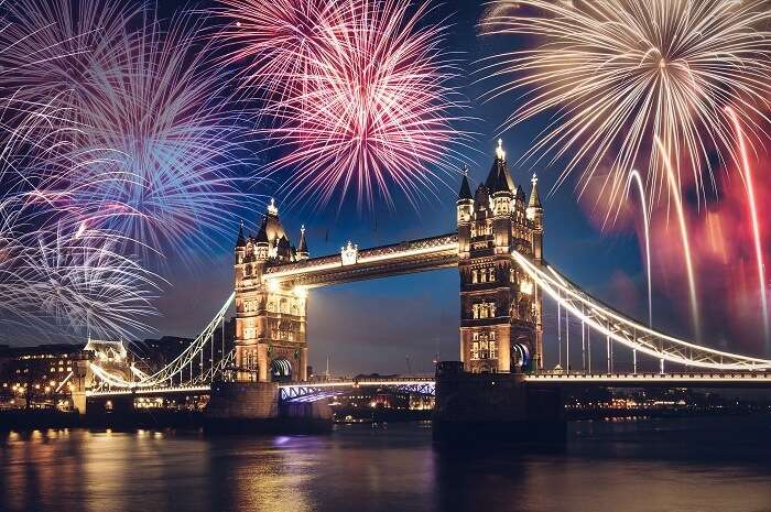 Exciting New Year party In London