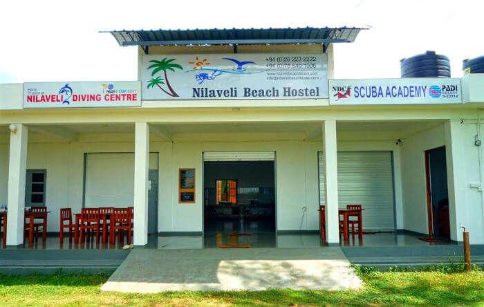 Nilaveli beach hostel