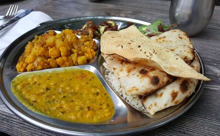 chapati and daal