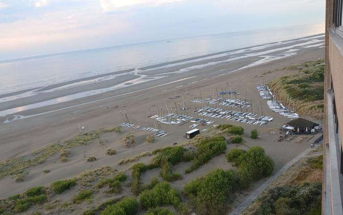 Beach from top