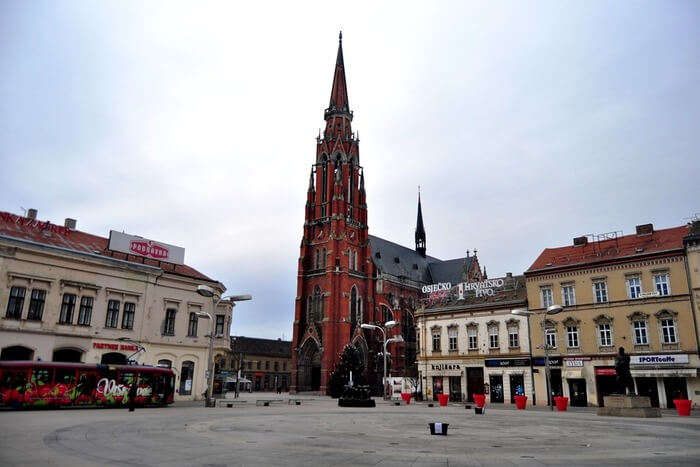 cathedral Neo-gothic Croatia