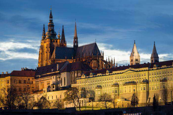 Beautiful castles of prague