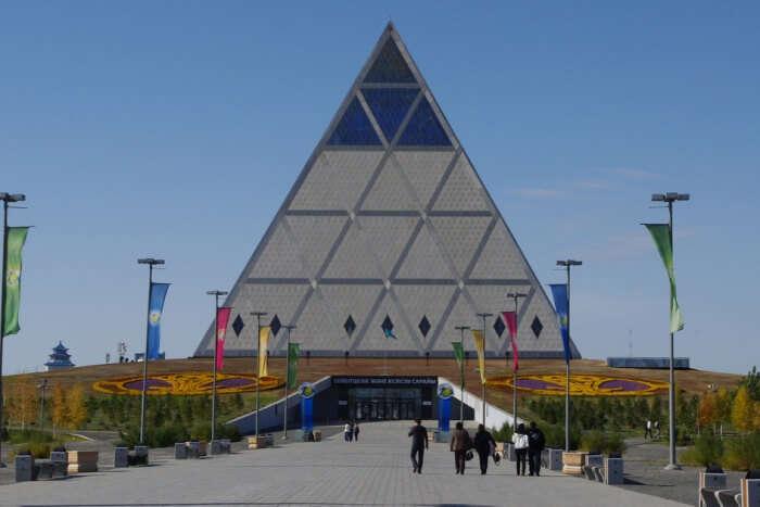 Pyramid of peace
