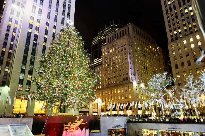 New York Christmas Tree Lighting 2021