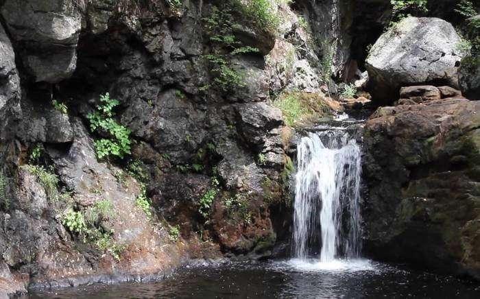 Large Beautiful waterfall