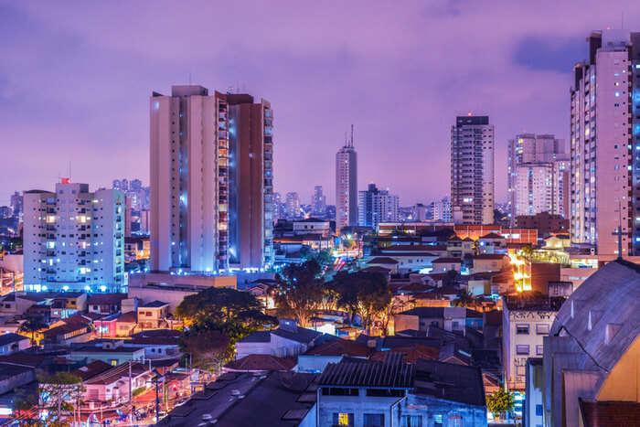 São Paulo city view