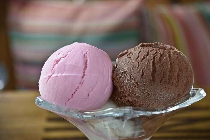 Savouring gourmet ice-creams