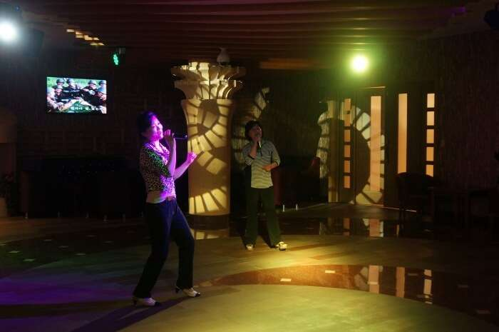 Sing your heart out at Karaoke
