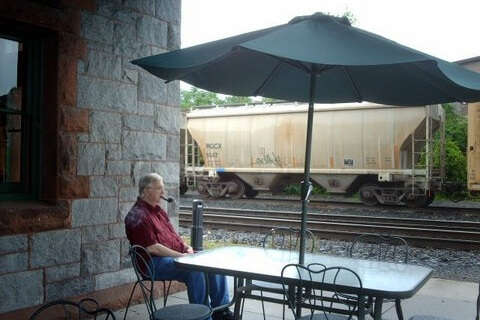 Spending time on outdoor patios