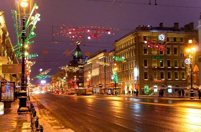 St Petersburg's Regent Street