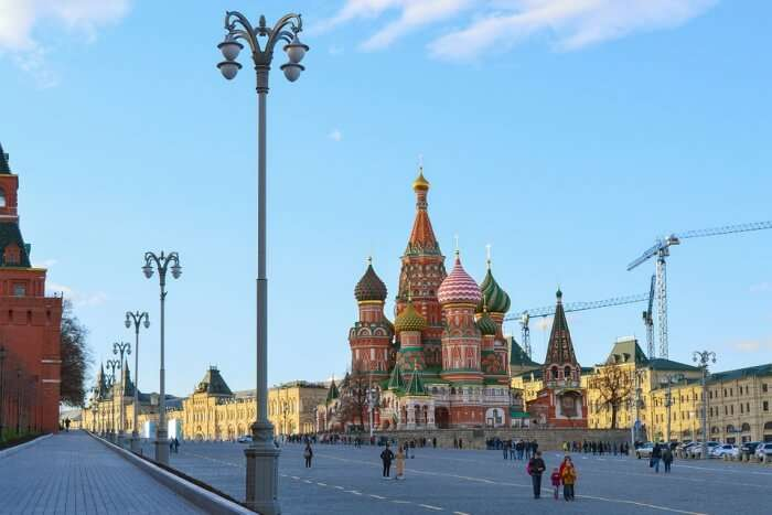 St Basil's Cathedral Moscow Red Square