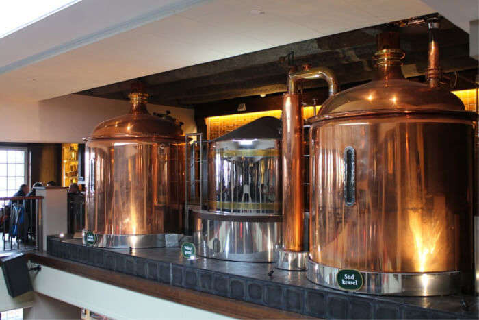 Take A Tour Of The Brewery