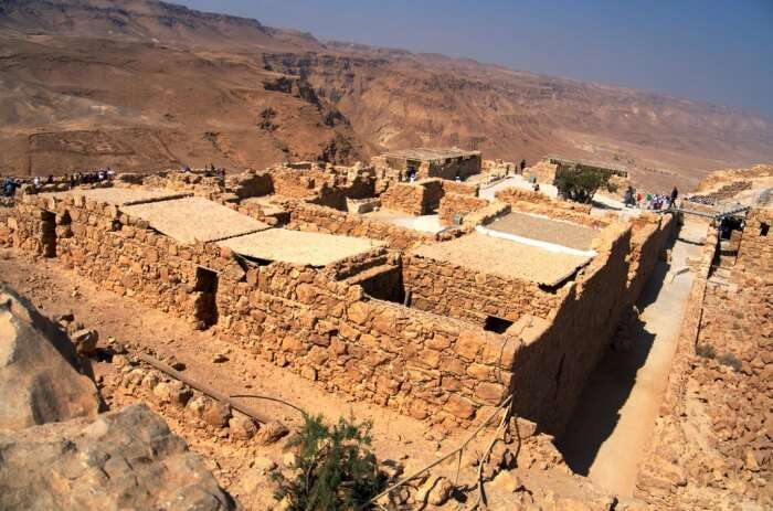 The mass suicide of Masada