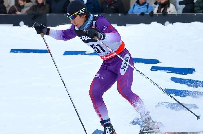 Try alpine sports