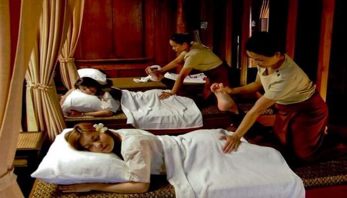 Take a Turkish massage