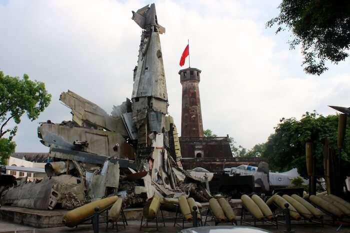 Beautiful Vietnam Military History Museum