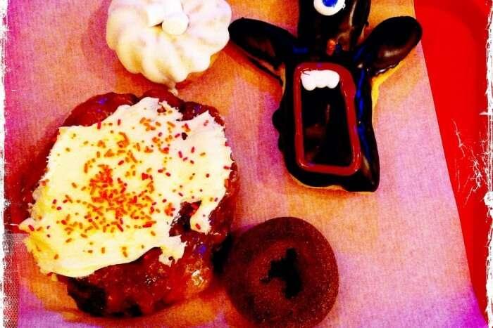 Visit Voodoo Doughnuts