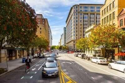 Washington DC streets (Cover)